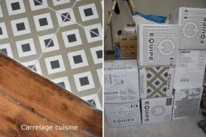 renovation cuisine carreaux de ciment