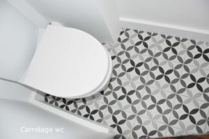 WC carrelage renovation