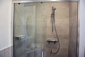 travaux de douche - bathroom